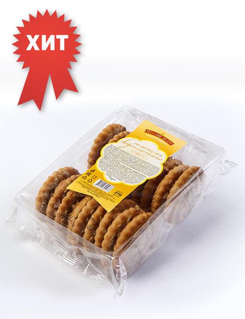 Печенье сахарное «Русский десерт» с семенами подсолнечника 270 гр