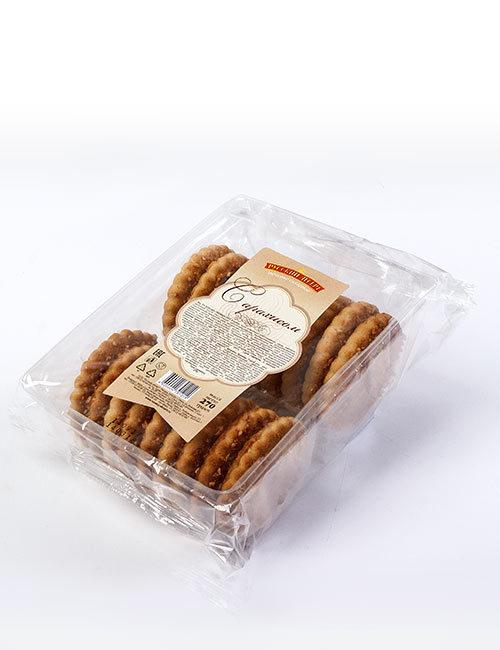 Печенье сахарное «Русский десерт» с арахисом 270 гр