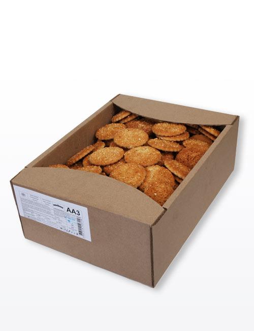 """Печенье сахарное """"Русский десерт"""" с арахисом 3,0 кг, АА3"""