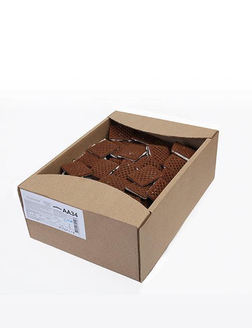 """Печенье сахарное """"Русский десерт"""" сеточка с какао и белой кондитерской глазурью 3,4 кг, АА34"""