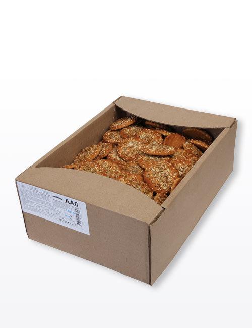 """Печенье сахарное """"Русский десерт"""" с семенами подсолнечника и кунжута 3,0 кг, АА6"""