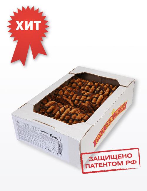 """Печенье сахарное """"Русский десерт"""" с арахисом, декорированное кондитерской глазурью 1,0 шт, Ам.1(шт.)"""