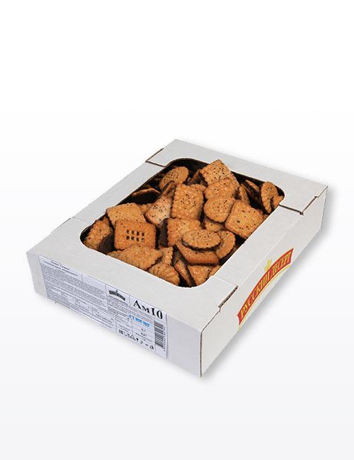 """Печенье """"Сахарное с посыпкой маком, декорированное глазурью"""" 700 гр., Ам.10"""